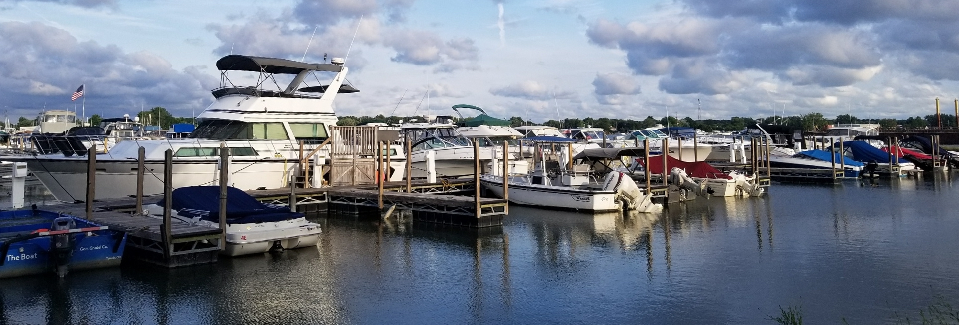 East Harbor State Park Marina dock view | Snag-A-Slip