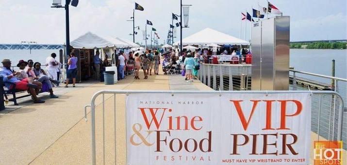 Festival Pier | The National Harbor Wine & Food Festival | Snag-A-Slip