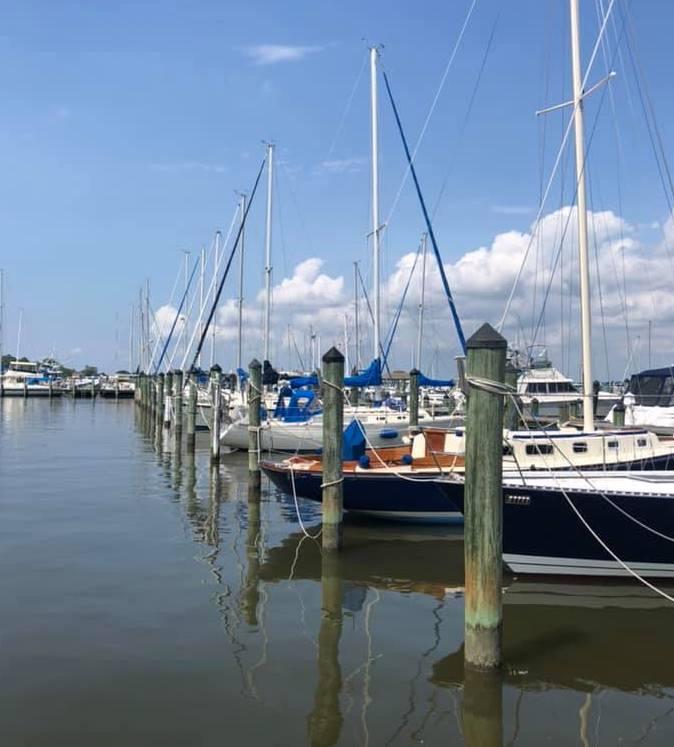 Docks at Cambridge Yacht   Big Bay Hunt 2020   Snag-A-Slip