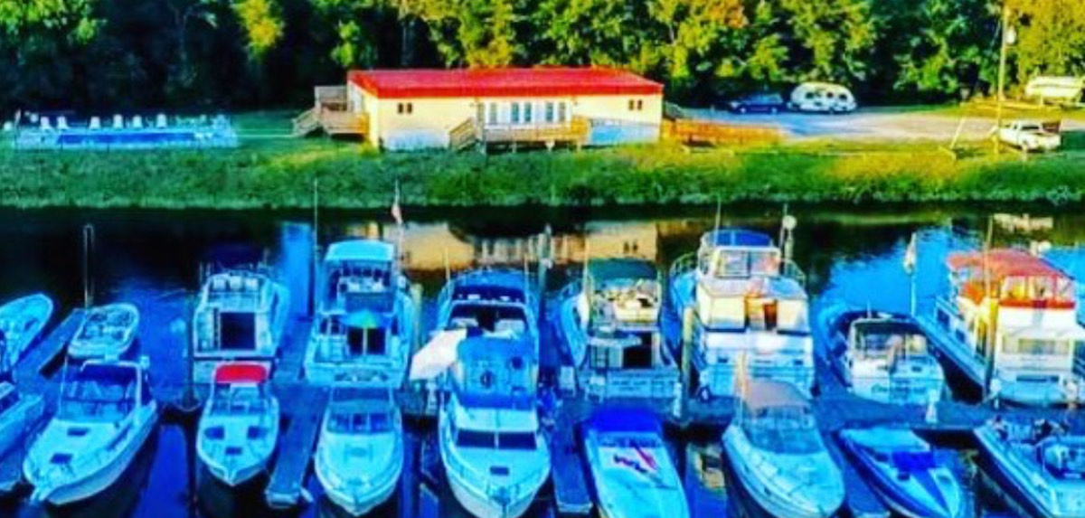 Appomattox Boat Harbor Aerial | Snag-A-Slip