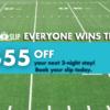 Super Bowl Promo Snag-A-Slip Book Boat Slips