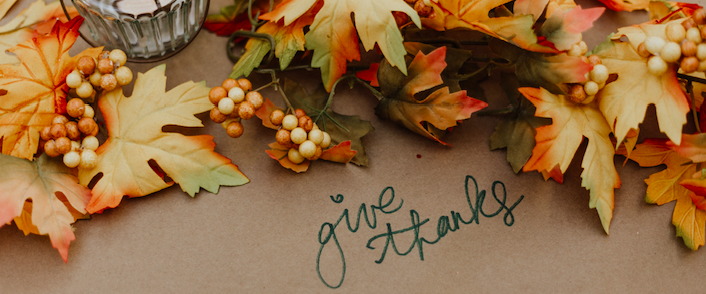 Photo by Priscilla Du Preez on Unsplash | Thanksgiving | Snag-A-Slip