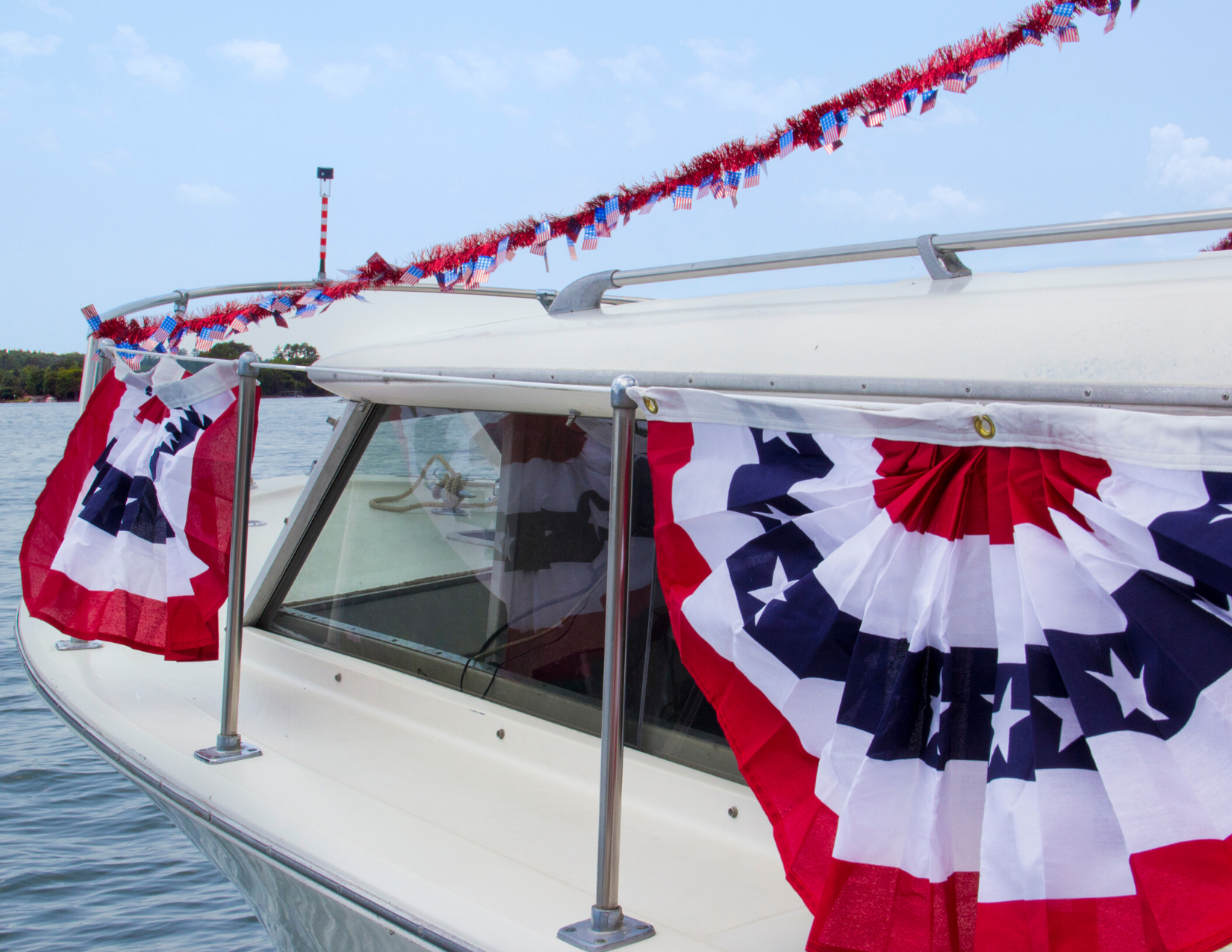 Boat Decorations | 4th of July | Snag-A-Slip