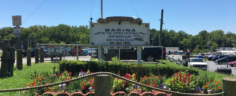 Tantallon Marina Entrance | Snag-A-Slip